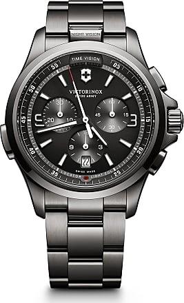 Victorinox by Swiss Army Mens Night Vision Bracelet Watch, 42mm