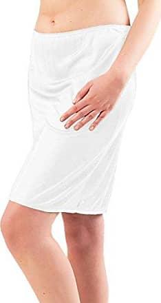 38 bis 56 Graziella Halbrock Damen lang Unterrock 82 cm antistatisch Made in Germany Gr