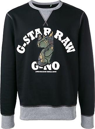 G-Star Raw Research Moletom com logo - Preto