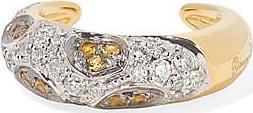 Yvonne Léon 18-karat Gold, Diamond And Citrine Ear Cuff