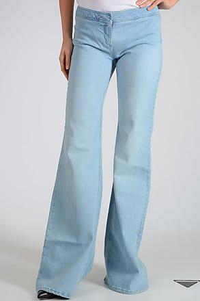 Balmain Stretch Cotton Bootcut Jeans 33.5 cm size 38