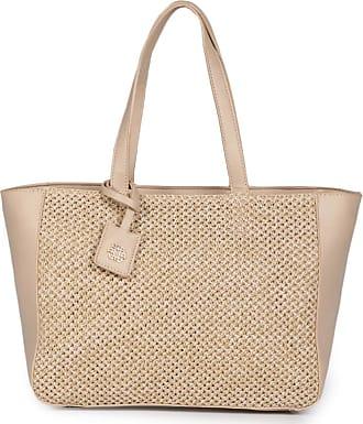 Ana Hickmann Bolsa Shopping Bag Ana Hickmann Ráfia
