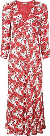 Rixo Diana floral print dress - Vermelho