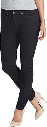 Dickies Womens FD145 Denim Skinny Jeans, 10, Rinsed Black