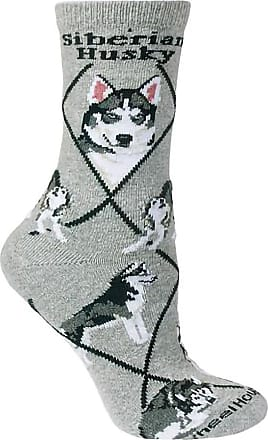 Wheel House Designs Dalmatian Dog Design Novelty Socks In Grey, Gray, Large