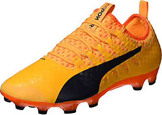 Puma Evopower Vigor 1 Graph MX SG, Chaussures de Football Homme, Jaune (Safety Yellow Silver Blue Depths), 44 EU