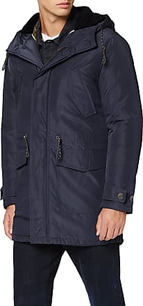 Selected Homme Mens Slhdean Parka W Coat, Blue (Dark Sapphire Dark Sapphire), XL