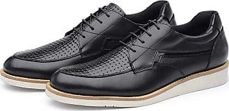 Avalon Organics Sapato Casual Couro Avalon Sport Ben Preto Tamanho:44