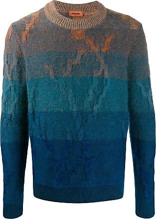 Missoni Suéter com padronagem color block - Azul