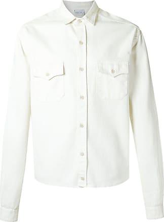 Amir Slama Hemd mit Klappentaschen - Weiß