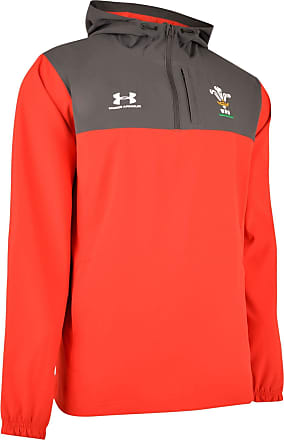Under Armour Mens Wales WRU 2019/20 Supporters Hooded Jacket
