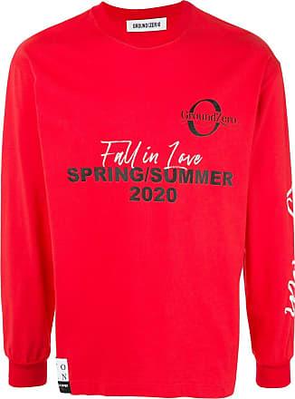 Ground-Zero Suéter com estampa de logo - Vermelho