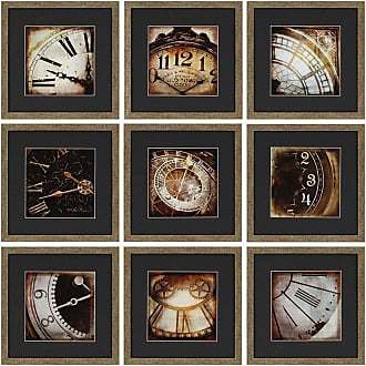 Paragon Picture Gallery Paragon Today Framed Wall Art - Set of 9 - 1619