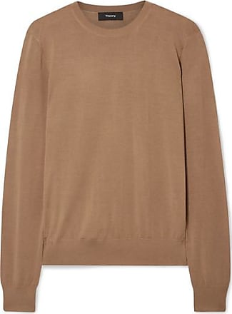 Theory Wool-blend Sweater - Light brown