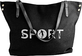 Juju Sport Womens Classic Shoulder Portable Big Tote Handbag Work Canvas Bags