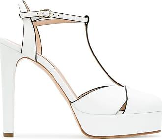 Casadei platform stiletto pumps - White