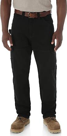 Wrangler Riggs Workwear Mens Big Ranger Pant,Black,48x34