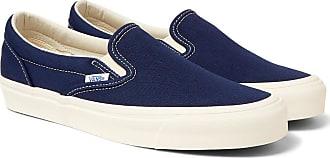 Vans Og Classic Lx Canvas Slip-on Sneakers - Blue
