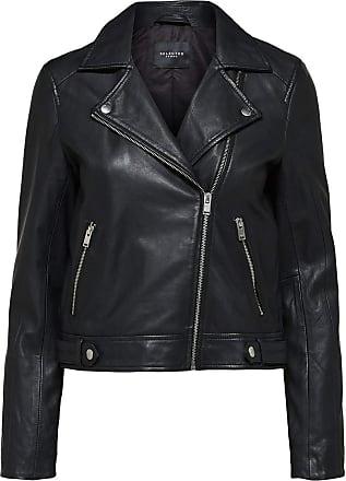 Selected Womens 16071712 Jacket, Black (Black Black), 12 (Size: 38)