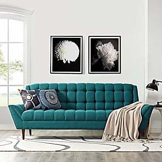 ModWay Modway EEI-1788-TEA Response Upholstered Fabric, Sofa, Teal