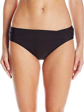 Panache Women Anya Classic Briefs Bikini Bottoms, Black, 18