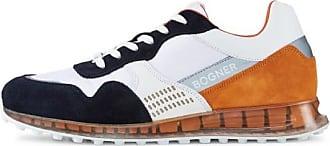 Bogner Sneaker Estoril für Herren - Navy-Blau/Weiß/Orange