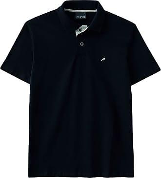 Enfim Camiseta Slim, Enfim, Masculina, Preto, M