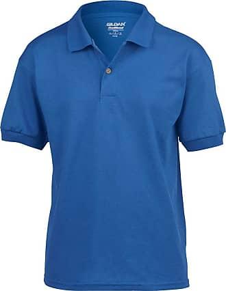 Gildan Gildan DryBlend Childrens Unisex Jersey Polo Shirt (L) (Royal)