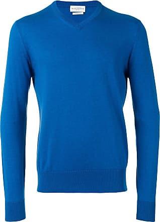 Ballantyne Suéter gola V - Azul