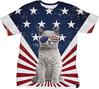 NA American Cat Flag 3D Shirt