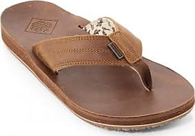 Freewaters Mens Open Country Leather Flip-Flops