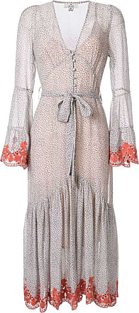 We Are Kindred Argentina button-up midi dress - Grey