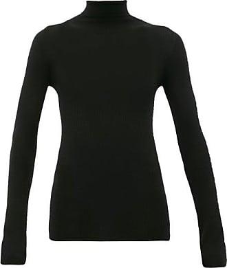 Wardrobe.NYC Wardrobe.nyc - Release 05 Roll-neck Ribbed Merino-wool Sweater - Womens - Black