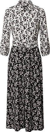 Riani Robe-chemise noir / blanc / rouge foncé