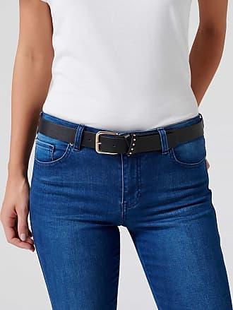 Forever New Blake Stud Jeans Belt - Black. - xs s