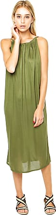 Finery Vestido Finery London Bessy Jersey Drawstring Verde