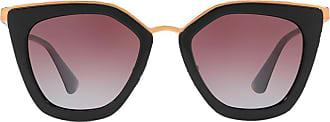 Prada Óculos de sol gatinho - Preto