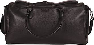 Kenneth Cole Reaction Kenneth Cole Reaction Faux Leather 20 Travel Duffel Bag, Black, One Size