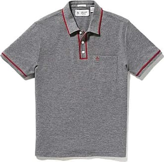 Original Penguin Earl Polo Shirt Stahlgrau - cotton | xl