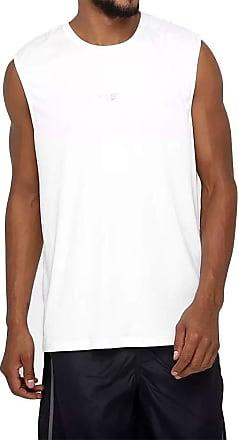 Speedo Camiseta Sem Manga Interlock Speedo Masculina 69010 - Branco - P
