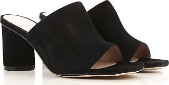 Stuart Weitzman Sandals for Women On Sale in Outlet, Black, Suede leather, 2017, US 5.5 (EU 36) US 6.5 (EU 37) US 7.5 (EU 38)