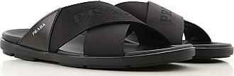 Prada Sandals for Men On Sale, Black, Leather, 2019, 10 11 5 5.5 6 6.5 7 7.5 8 8.5 9 9.5