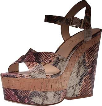 Jessica Simpson Womens Jirie Heeled Sandal, Mauve Combo, 6.5 UK