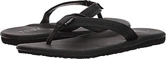 Flojos Claire (Black) Womens Toe Open Shoes