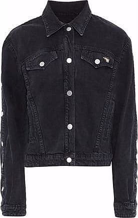 J Brand J Brand Woman + Bella Freud Denim Jacket Black Size XS