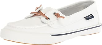 Sperry Top-Sider Womens Lounge Away Sneaker, White, 9.5 Medium US