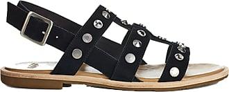 5a068fdf3a23 UGG Womens Zariah Studded Bling Sandal Black Size 9 B(M) US