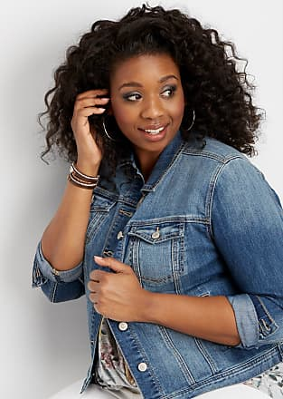 Maurices Plus Size - Traditional Medium Wash Denim Jacket