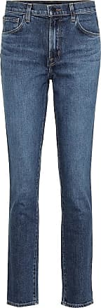 J Brand Ruby high-rise cropped skinny jeans