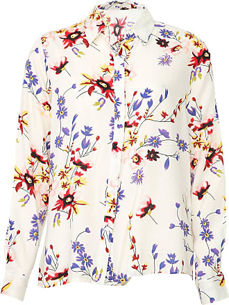 Facinelli by MOONCITY Camisa Facinelli by MOONCITY Reta Floral Off-White